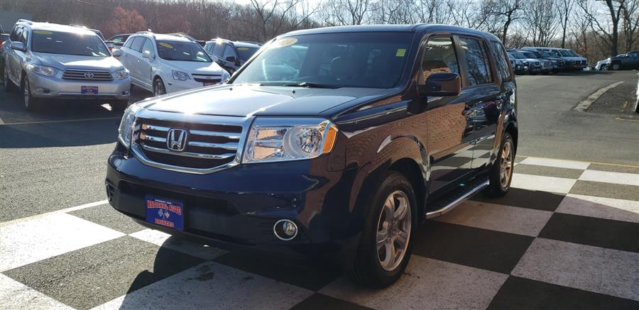 Used Honda Pilot 4WD 4dr EX-L 2014 | National Auto Brokers, Inc.. Waterbury, Connecticut