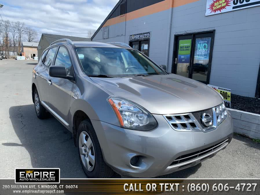 Used Nissan Rogue Select AWD 4dr S 2015 | Empire Auto Wholesalers. S.Windsor, Connecticut
