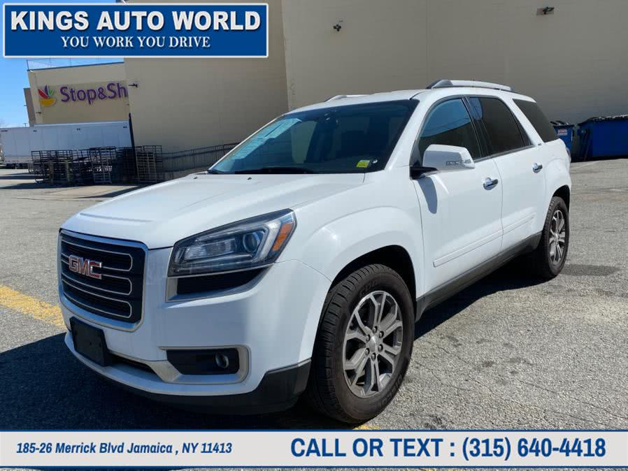 Used GMC Acadia AWD 4dr SLT w/SLT-1 2016 | Kings Auto World. Jamaica , New York