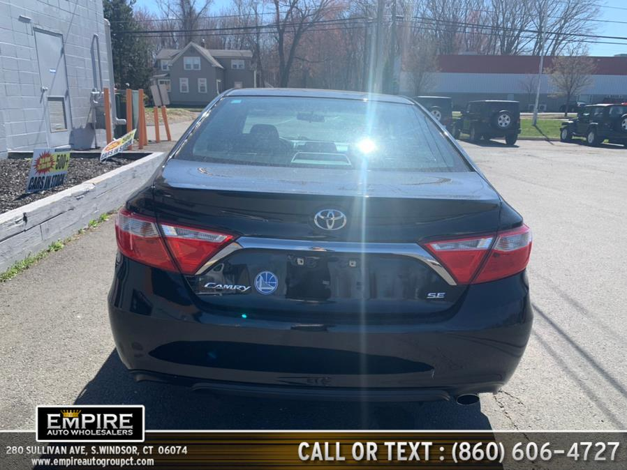 Used Toyota Camry SE Auto (Natl) 2017   Empire Auto Wholesalers. S.Windsor, Connecticut
