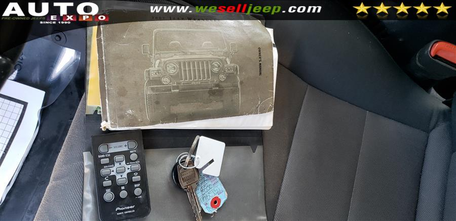 2002 Jeep Wrangler X photo