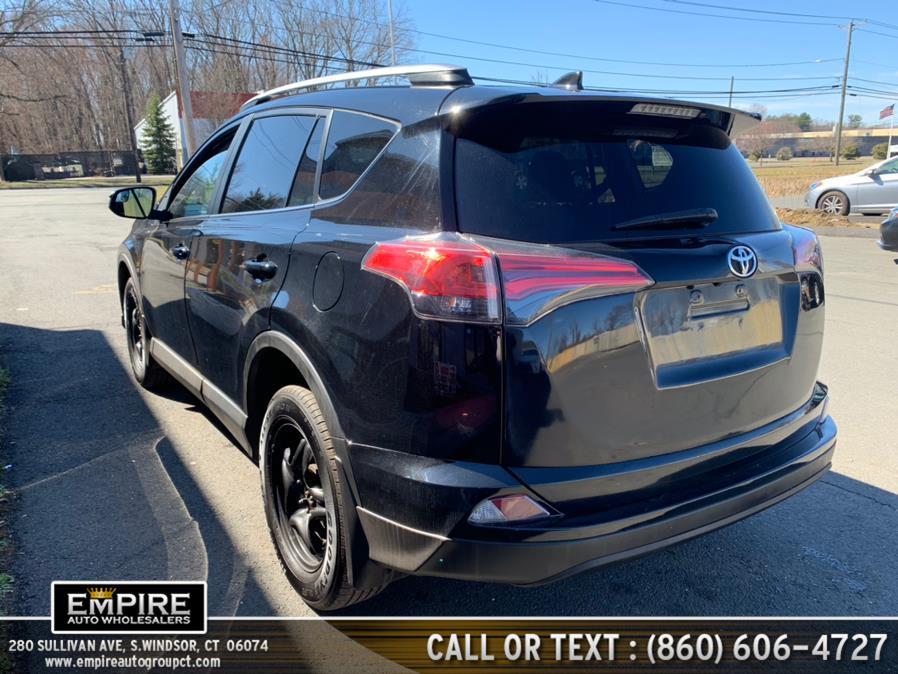 Used Toyota RAV4 LE AWD (Natl) 2017   Empire Auto Wholesalers. S.Windsor, Connecticut