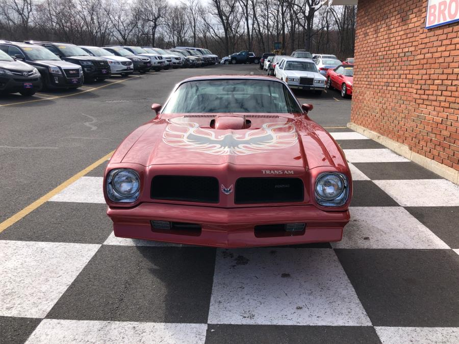 Used Pontiac Firebird 2dr Coupe Trans Am 1976 | National Auto Brokers, Inc.. Waterbury, Connecticut