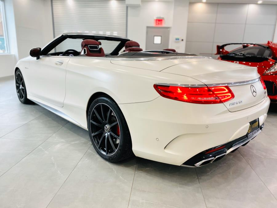 Used Mercedes-Benz S-Class AMG S 63 4MATIC Cabriolet 2017 | C Rich Cars. Franklin Square, New York