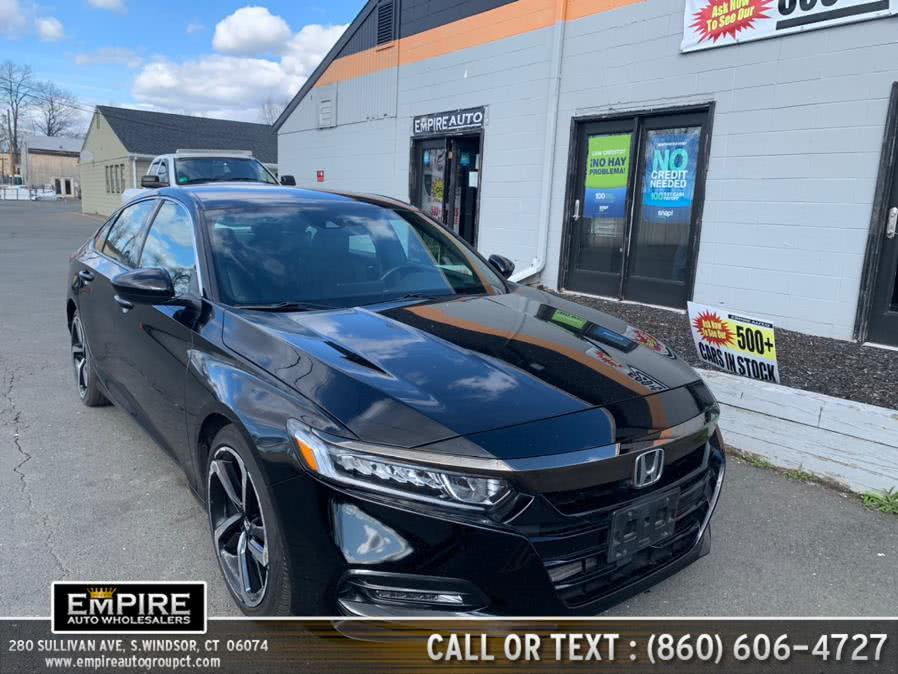 Used Honda Accord Sedan Sport CVT 2018 | Empire Auto Wholesalers. S.Windsor, Connecticut