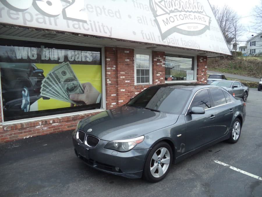 Used 2007 BMW 5 Series in Naugatuck, Connecticut | Riverside Motorcars, LLC. Naugatuck, Connecticut
