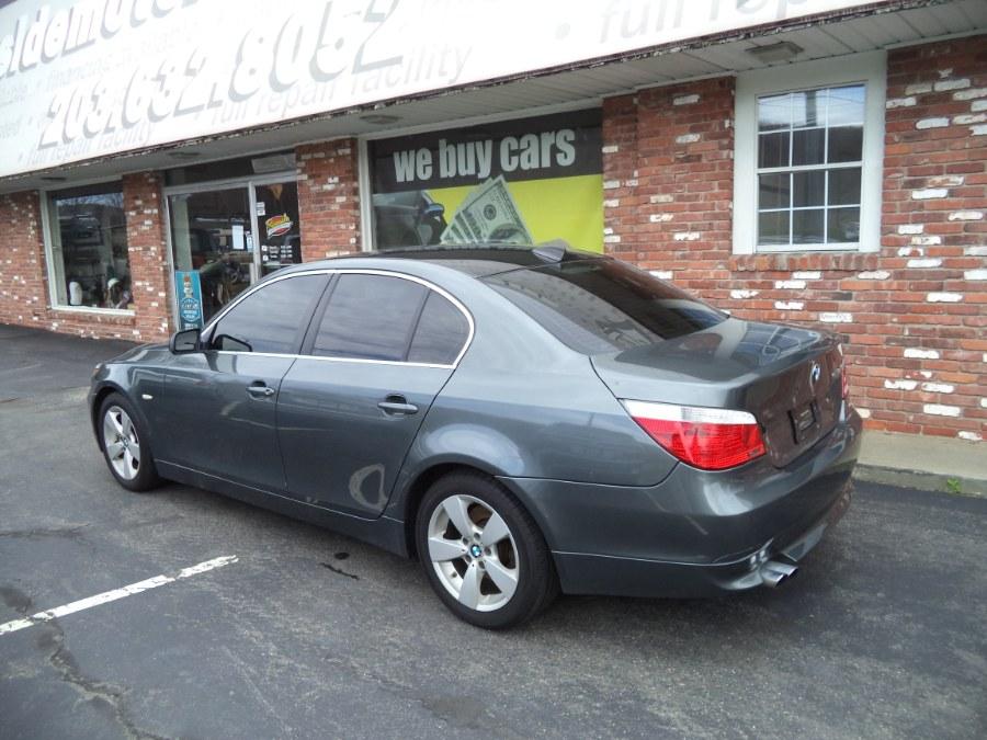 Used BMW 5 Series 4dr Sdn 530xi AWD 2007   Riverside Motorcars, LLC. Naugatuck, Connecticut