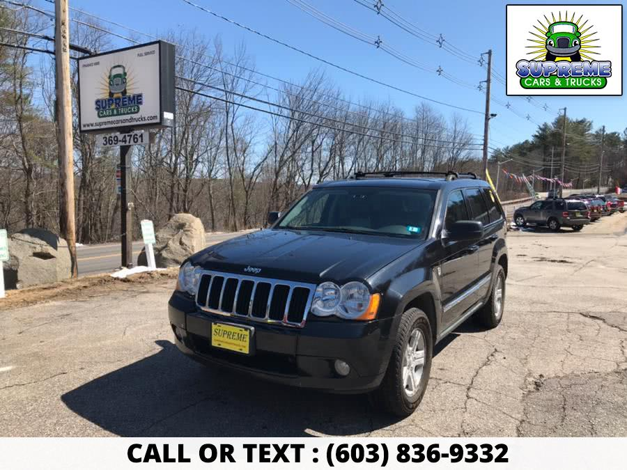 Used 2009 JEEP GRAND CHEROKEE in Bow , New Hampshire | Supreme Cars and Trucks . Bow , New Hampshire