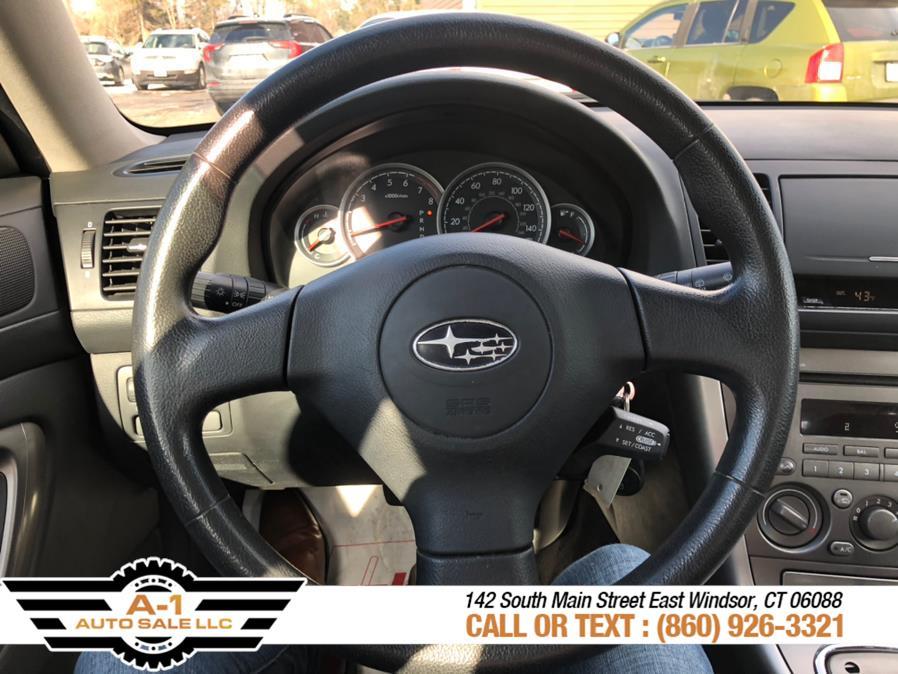 Used Subaru Legacy Wagon Outback 2.5i Auto PZEV 2006 | A1 Auto Sale LLC. East Windsor, Connecticut