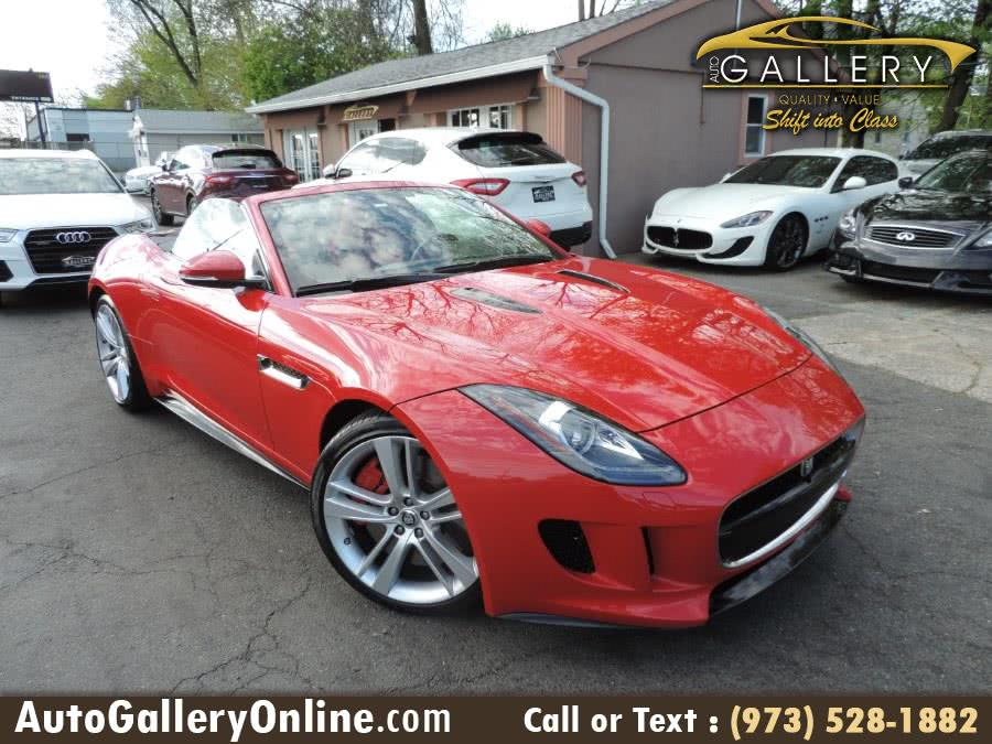 Used Jaguar F-TYPE 2dr Conv V8 S 2014 | Auto Gallery. Lodi, New Jersey