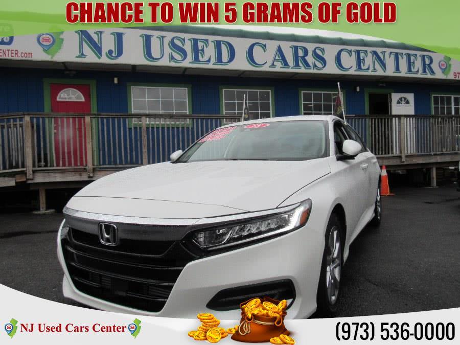 Used 2018 Honda Accord Sedan in Irvington, New Jersey | NJ Used Cars Center. Irvington, New Jersey