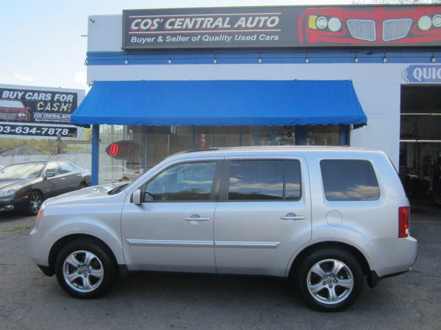 Used Honda Pilot 4WD 4dr EX-L w/RES 2013 | Cos Central Auto. Meriden, Connecticut