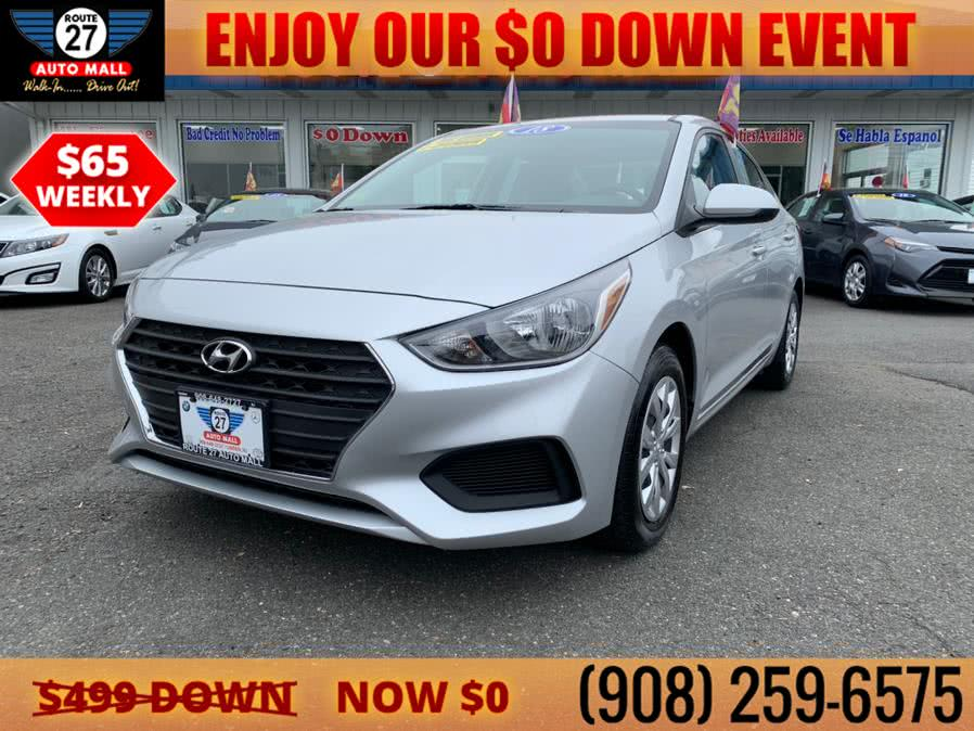 Used 2018 Hyundai Accent in Linden, New Jersey | Route 27 Auto Mall. Linden, New Jersey