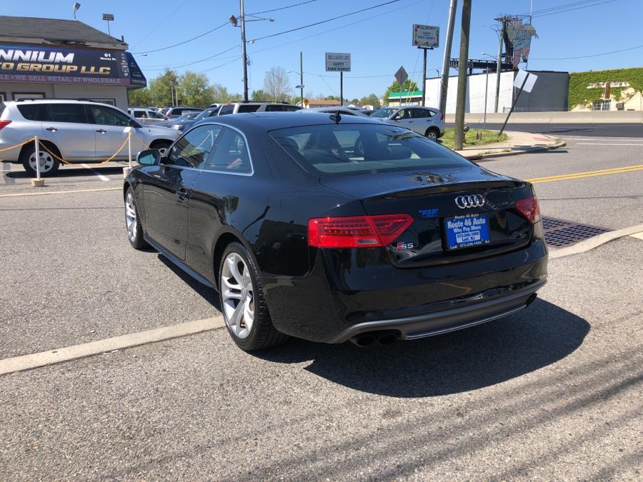 Used Audi S5 2dr Cpe Man Premium Plus 2016   Route 46 Auto Sales Inc. Lodi, New Jersey