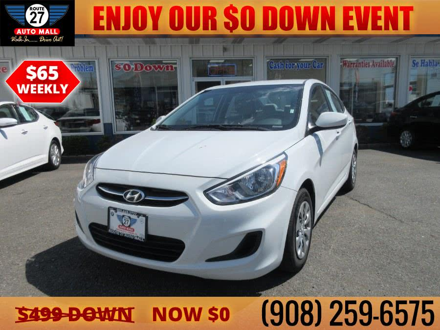 Used 2017 Hyundai Accent in Linden, New Jersey | Route 27 Auto Mall. Linden, New Jersey