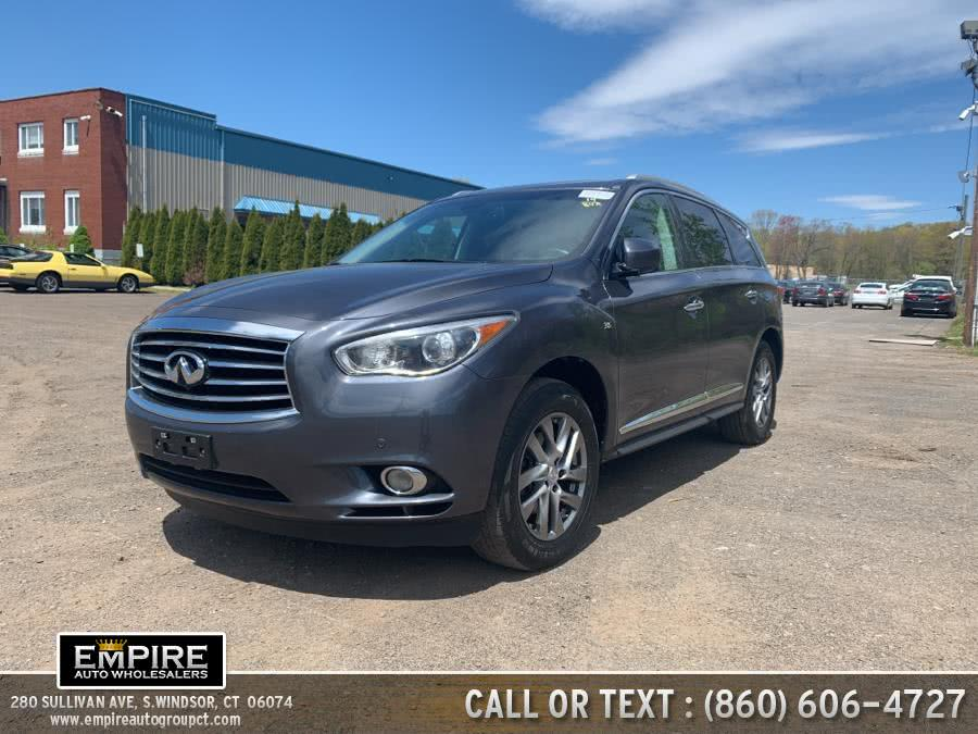 Used 2014 Infiniti QX60 in S.Windsor, Connecticut | Empire Auto Wholesalers. S.Windsor, Connecticut