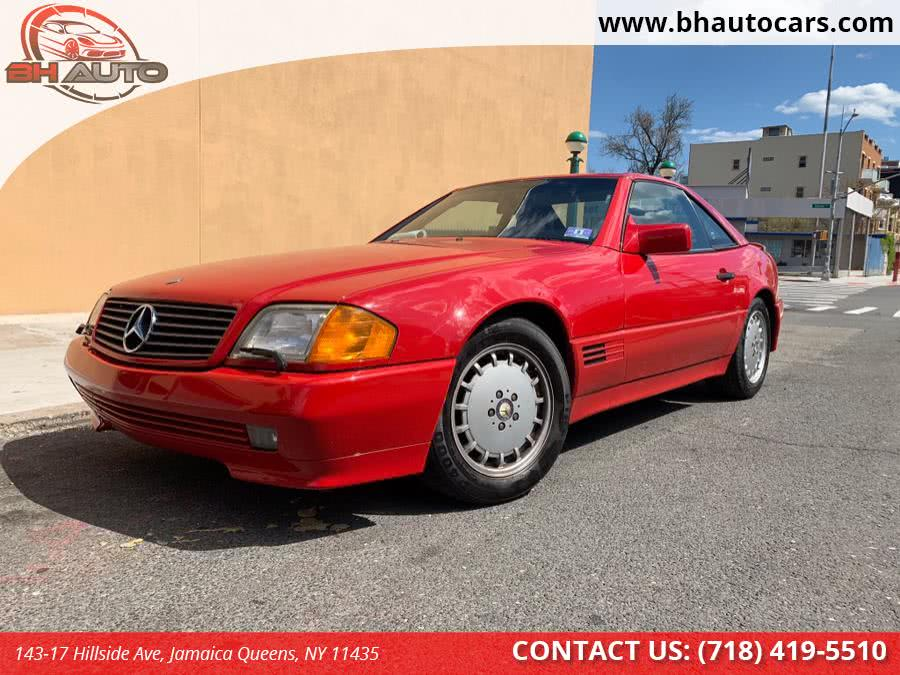 Used 1991 Mercedes-Benz 500SL in Jamaica Queens, New York | BH Auto. Jamaica Queens, New York