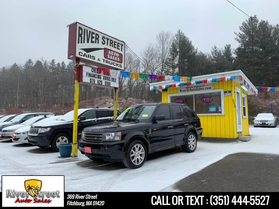 Used Land Rover Range Rover Sport 4WD 4dr HSE 2008 | River Street Auto Sales. Fitchburg, Massachusetts