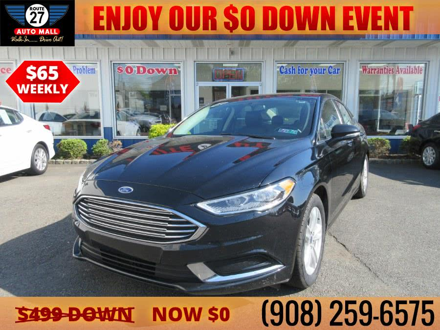 Used 2018 Ford Fusion in Linden, New Jersey | Route 27 Auto Mall. Linden, New Jersey