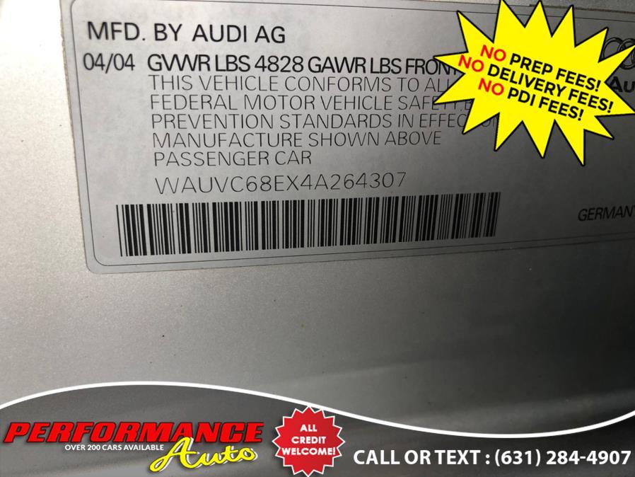 Used Audi A4 2004 5dr Wgn 1.8T Avant quattro M 2004 | Performance Auto Inc. Bohemia, New York