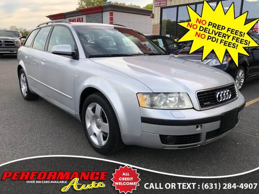 Used Audi A4 2004 5dr Wgn 1.8T Avant quattro M 2004 | Performance Auto Inc. Bohemia, New York