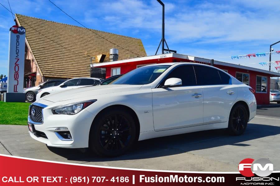 Used 2019 INFINITI Q50 in Moreno Valley, California | Fusion Motors Inc. Moreno Valley, California