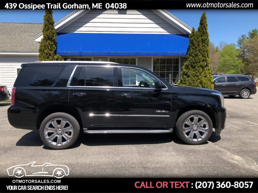 Used 2015 GMC Yukon in Gorham, Maine | Ossipee Trail Motor Sales. Gorham, Maine