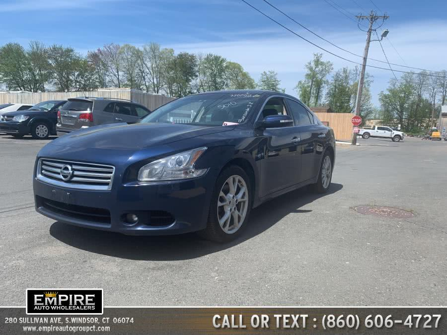 Used 2014 Nissan Maxima in S.Windsor, Connecticut | Empire Auto Wholesalers. S.Windsor, Connecticut