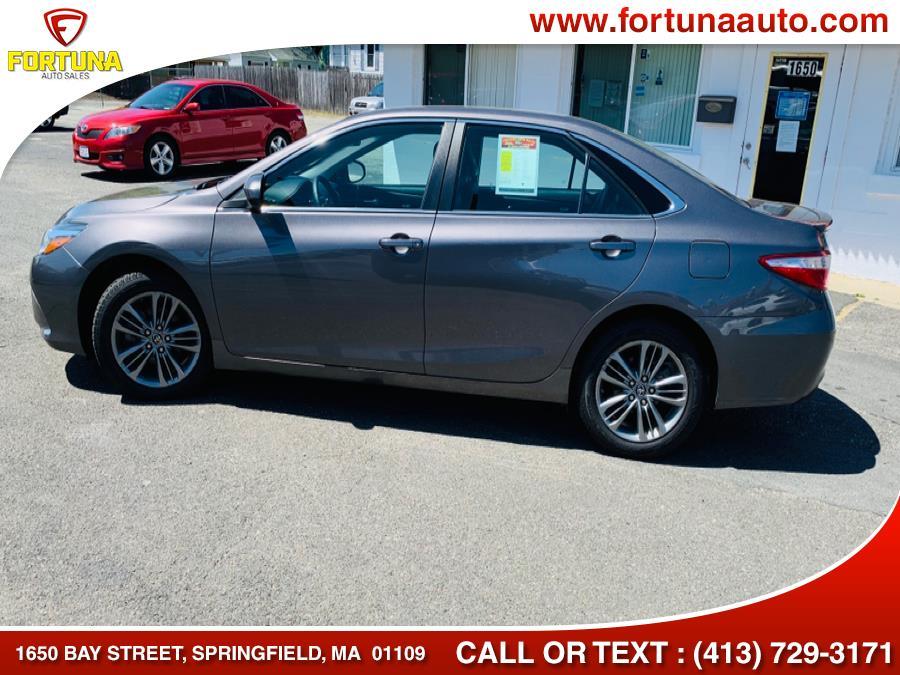 Used Toyota Camry SE 2017 | Fortuna Auto Sales Inc.. Springfield, Massachusetts