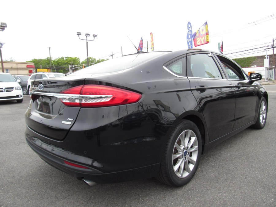Used Ford Fusion SE FWD 2017 | NJ Used Cars Center. Irvington, New Jersey