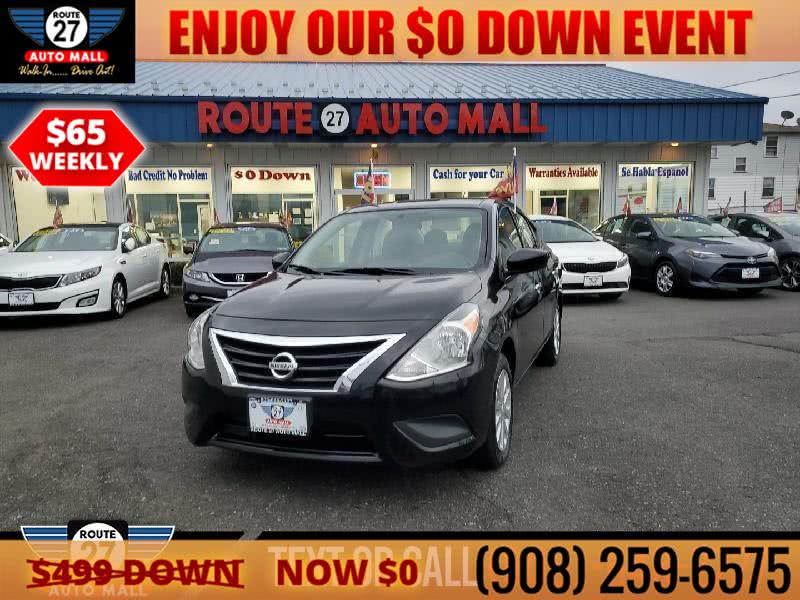 Used 2019 Nissan Versa Sedan in Linden, New Jersey | Route 27 Auto Mall. Linden, New Jersey