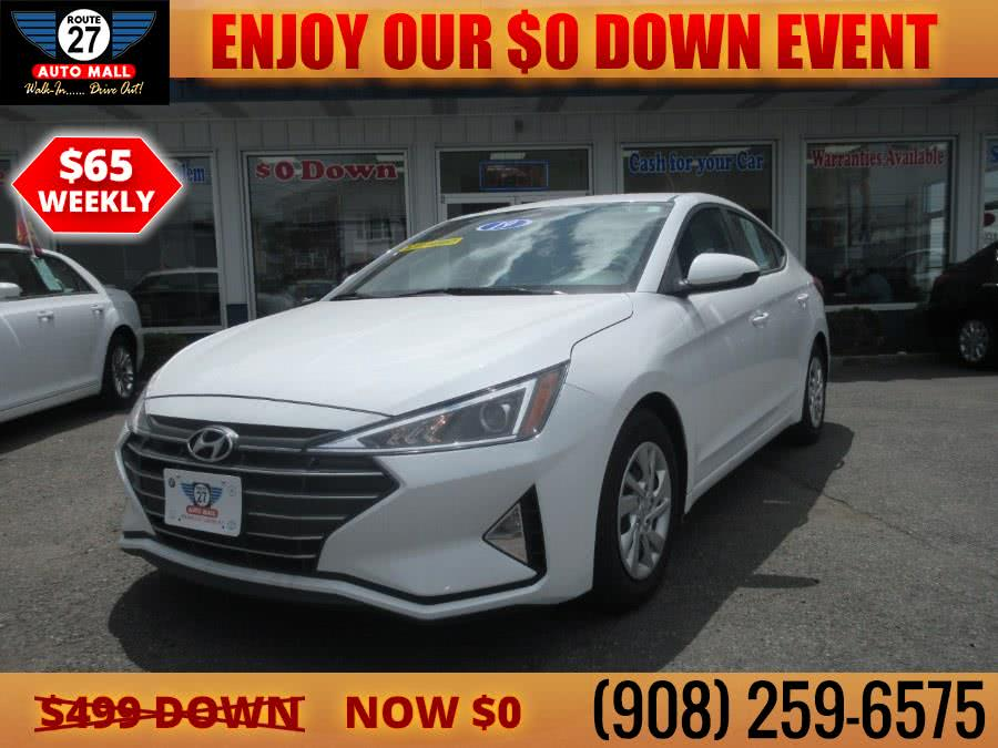 Used 2019 Hyundai Elantra in Linden, New Jersey | Route 27 Auto Mall. Linden, New Jersey