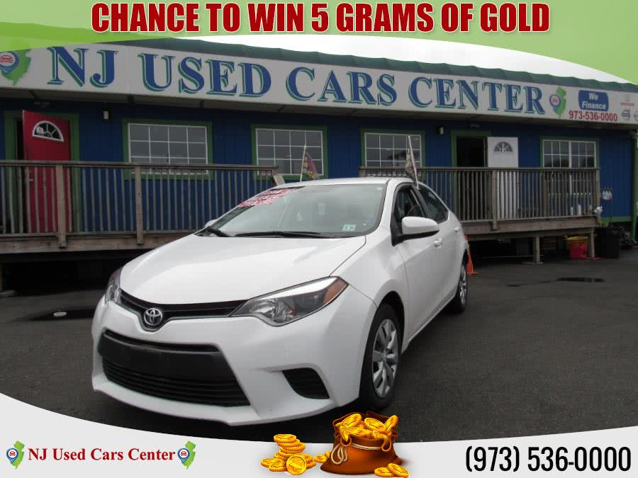 Used 2016 Toyota Corolla in Irvington, New Jersey | NJ Used Cars Center. Irvington, New Jersey