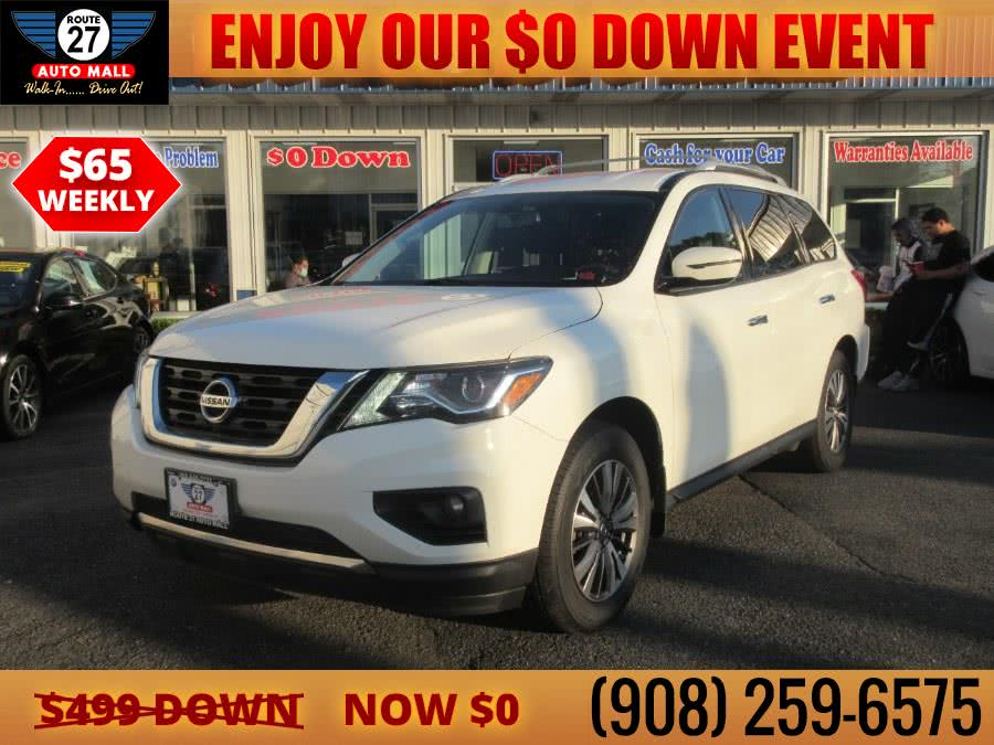 Used 2017 Nissan Pathfinder in Linden, New Jersey | Route 27 Auto Mall. Linden, New Jersey