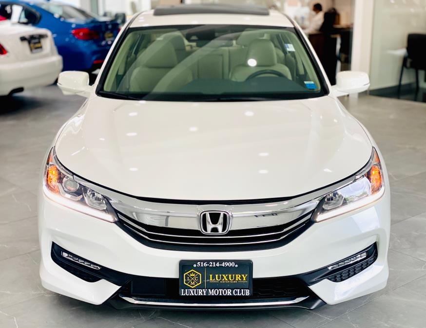 Used Honda Accord Sedan EX-L CVT w/Navi & Honda Sensing 2017 | Luxury Motor Club. Franklin Square, New York