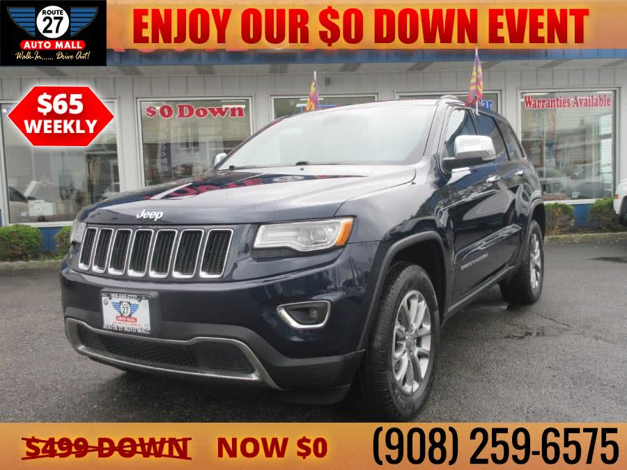 Used 2015 Jeep Grand Cherokee in Linden, New Jersey | Route 27 Auto Mall. Linden, New Jersey
