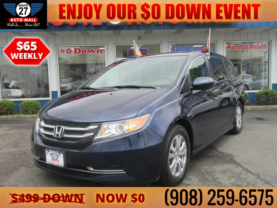Used 2017 Honda Odyssey in Linden, New Jersey | Route 27 Auto Mall. Linden, New Jersey