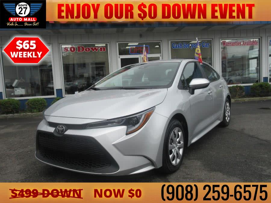 Used 2020 Toyota Corolla in Linden, New Jersey | Route 27 Auto Mall. Linden, New Jersey