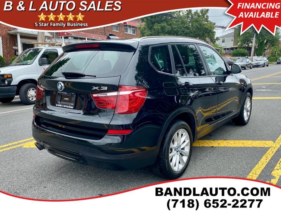Used BMW X3 xDrive28i AWD 2017   B & L Auto Sales LLC. Bronx, New York