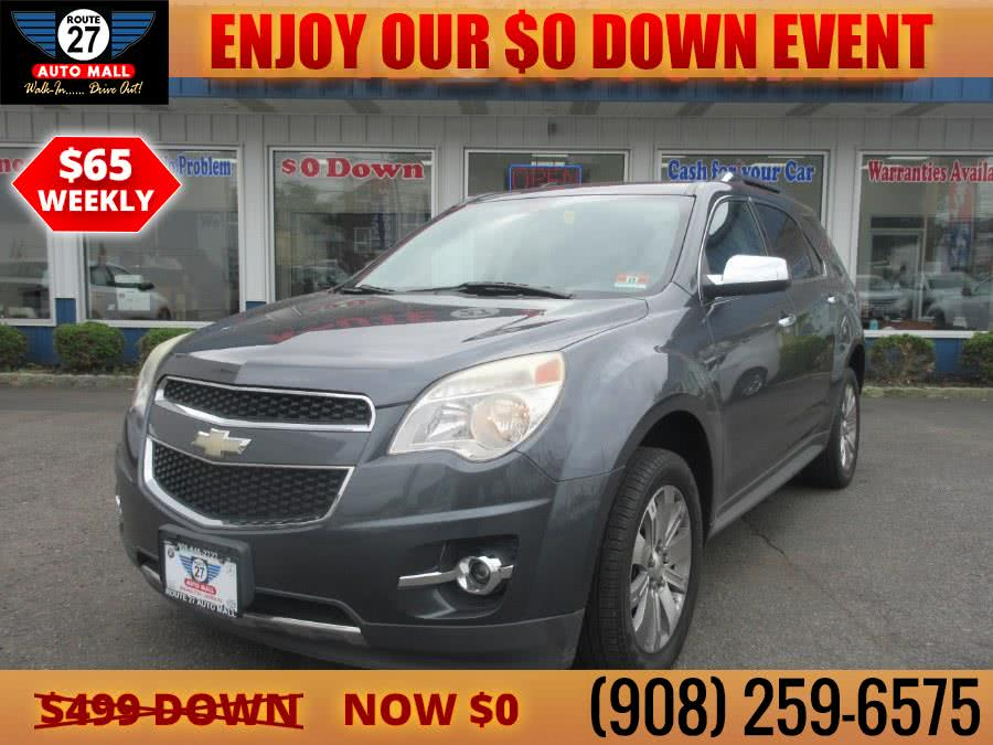 Used 2010 Chevrolet Equinox in Linden, New Jersey | Route 27 Auto Mall. Linden, New Jersey
