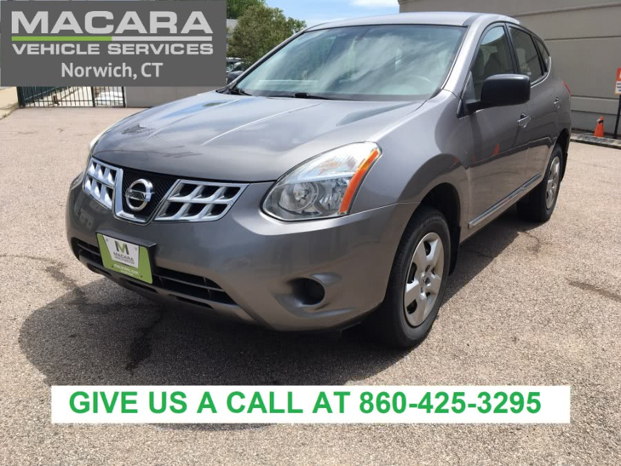 Used Nissan Rogue AWD 4dr S 2012 | MACARA Vehicle Services, Inc. Norwich, Connecticut