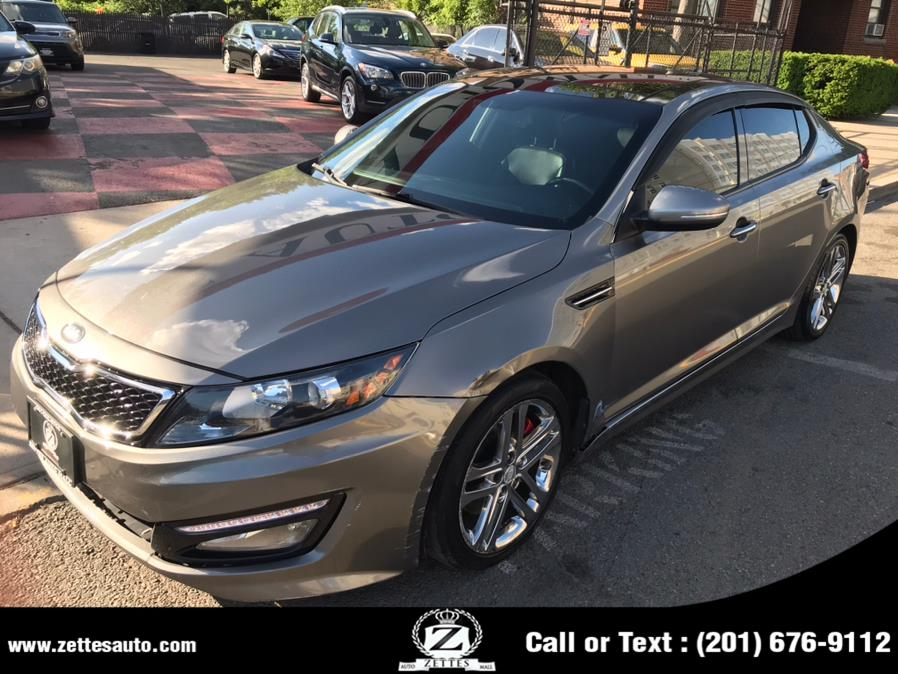 Used Kia Optima 4dr Sdn SX w/Chrome Limited Pkg 2013 | Zettes Auto Mall. Jersey City, New Jersey