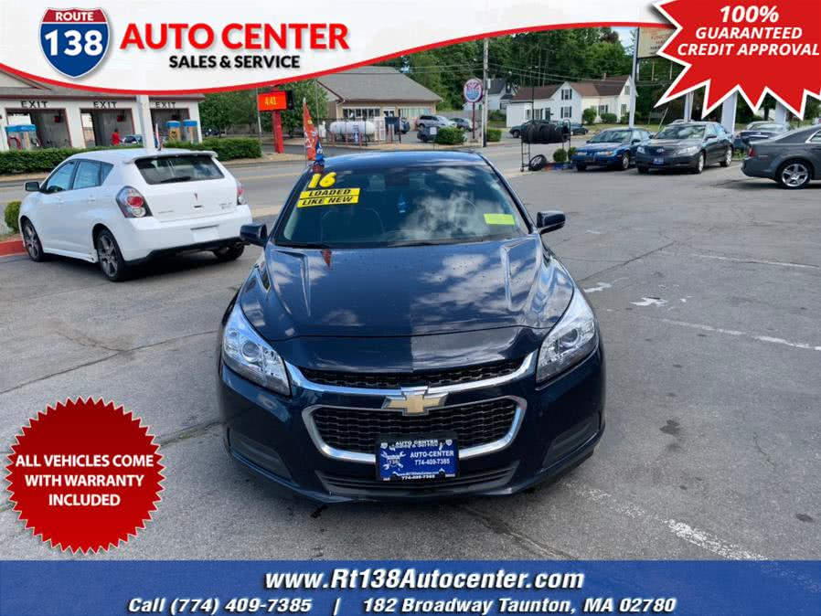 Used 2016 Chevrolet Malibu Limited in Taunton, Massachusetts | Rt 138 Auto Center Inc . Taunton, Massachusetts