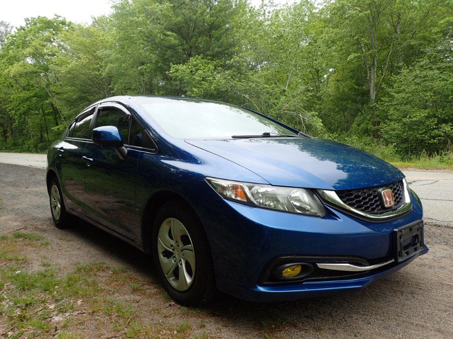 Used Honda Civic Sdn 4dr Auto LX 2013 | Eagleville Motors. Storrs, Connecticut