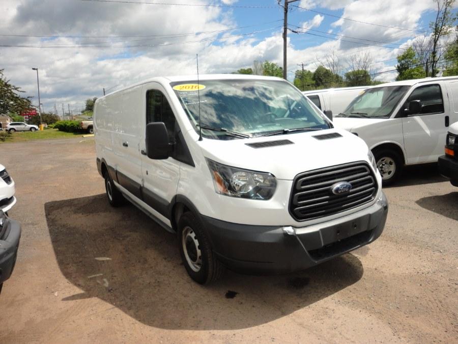 "Used Ford cargo transit Transit Cargo Van T-350 148"" Low Rf 9500 GVWR Swing-Out RH Dr 2016 | International Motorcars llc. Berlin, Connecticut"
