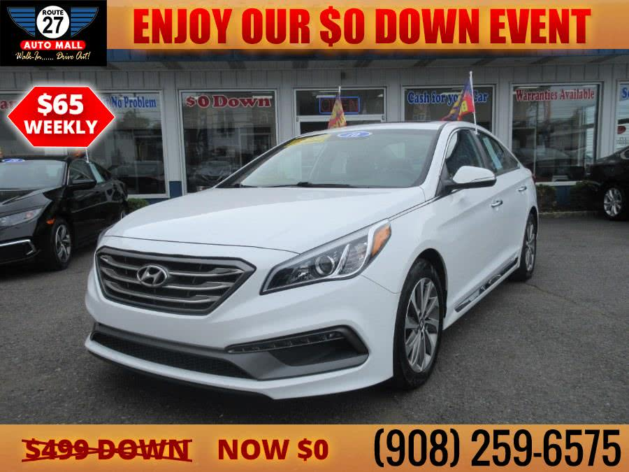 Used 2016 Hyundai Sonata in Linden, New Jersey | Route 27 Auto Mall. Linden, New Jersey