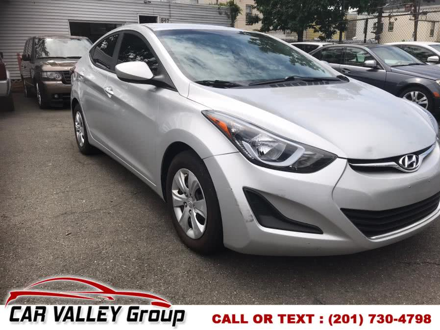 Used 2016 Hyundai Elantra in Jersey City, New Jersey | Car Valley Group. Jersey City, New Jersey