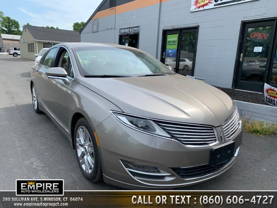 Used 2016 Lincoln MKZ in S.Windsor, Connecticut | Empire Auto Wholesalers. S.Windsor, Connecticut
