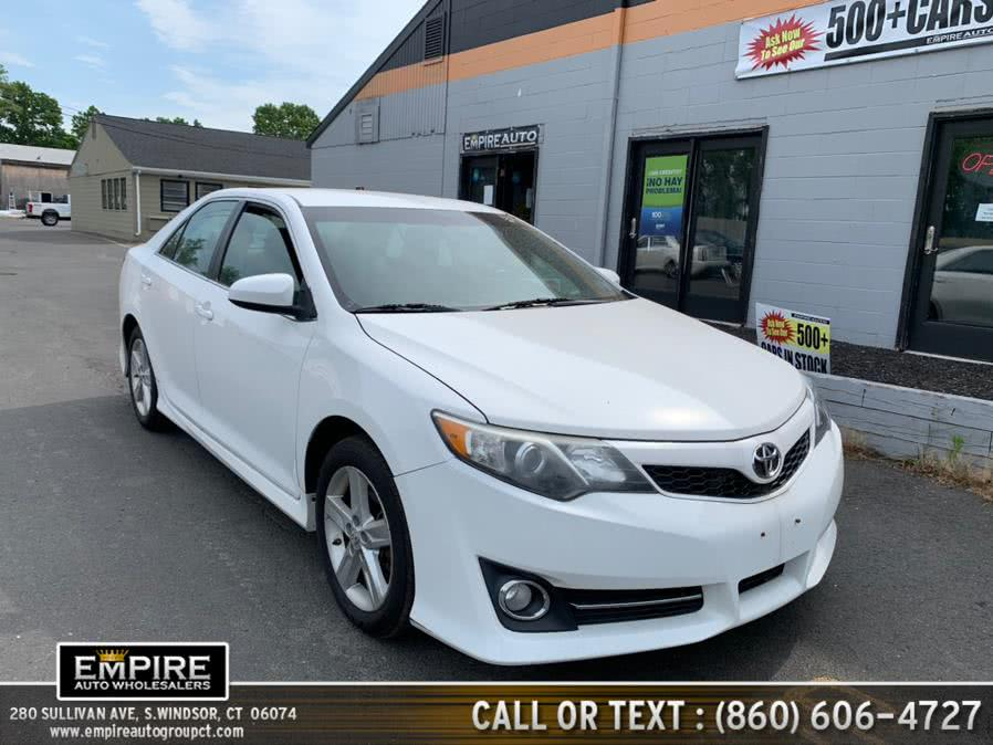 Used Toyota Camry 4dr Sdn I4 Auto SE (Natl) 2012 | Empire Auto Wholesalers. S.Windsor, Connecticut