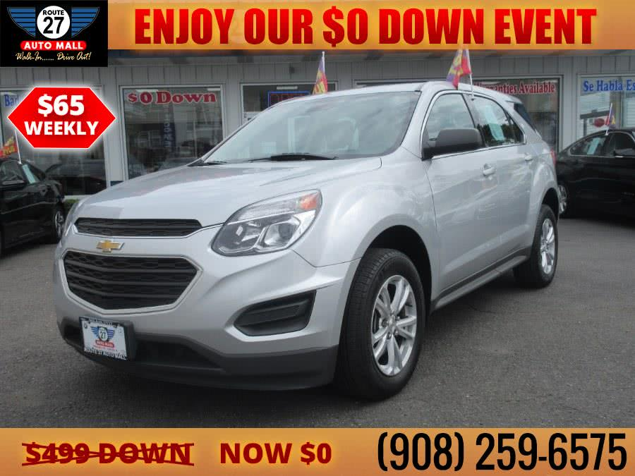 Used 2017 Chevrolet Equinox in Linden, New Jersey | Route 27 Auto Mall. Linden, New Jersey